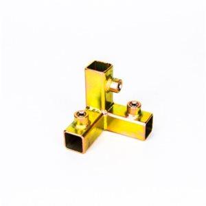 MODERN CORNER W / BRACE FOR 3 / 4 SQ TUBE