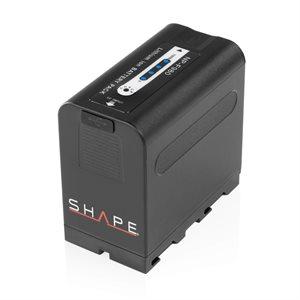 SHAPE NP-F980 lithium-ion battery pack 7.4v 6600mAh