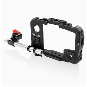 Shape SHAPE cage for Atomos Shinobi monitor with 15 mm LWS swivel rod clamp