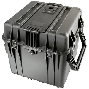 Pelican 0344Bd 0340 Cube Case With Dividers - Black