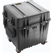PELICAN #350 CUBE CASE WITH DIVIDERS - BLACK