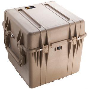 Pelican 0354Dtd 0350 Cube Case With Dividers - Desert Tan
