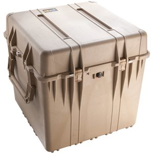 Pelican 0374Dtd 370 Cube Case With Dividers - Desert Tan