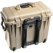 PELICAN # 1440 CASE WITH DIVIDERS AND LID ORGANISER - DESERT TAN