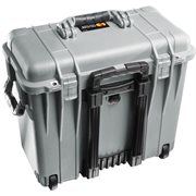 PELICAN # 1440 CASE WITH  OFFICE DIVIDERS AND LID ORGANISER - SILVER