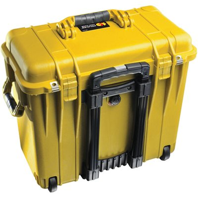 Pelican 1447Yod 1440 Case With Office Dividers And Lid Organiser - Yellow