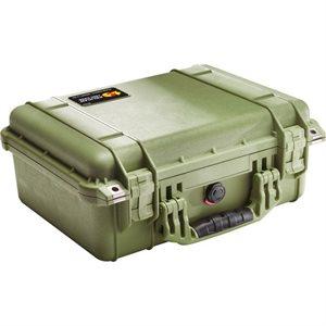 Pelican 1450 Case No Foam - Olive Drab Green