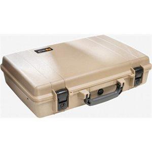 Pelican 1490 Computer Case Deluxe - Desert Tan *Special Order MOQ applies