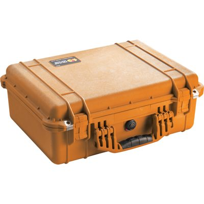 Pelican 1520 Case With Padded Divider Set - Orange *Special Order MOQ applies