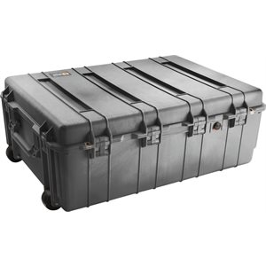 PELICAN # 1730 WEAPONS TRANSPORT CASE NO FOAM - BLACK