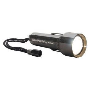 Pelican 1800SBK Super Pelilite Carded Flashlight Black