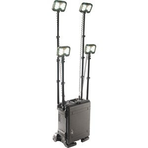 Pelican 9470M 2-Head Remote Area Lighting System Gen 3 Mobility- Black