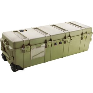 PELICAN # 1740 WEAPONS TRANSPORT CASE NO FOAM - OLIVE DRAB GREEN