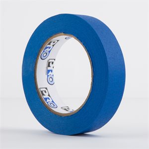 PERMACEL PAPER TAPE BLUE 25MM X 50M
