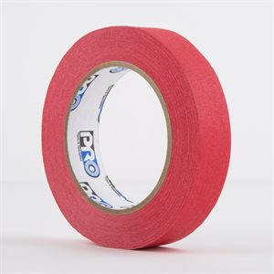 PERMACEL PAPER TAPE RED 24MM X 50M