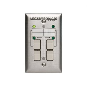 LECTRO REMOTE CONTROL FOR ASPEN SERIES, FOUR BUTTONS, LEDS