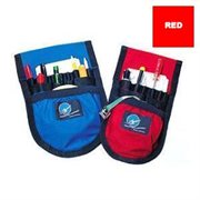 ROCKET LARGE CAMERA POUCH RED