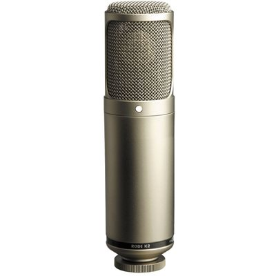"K2 Variable-pattern dual 1"" valve condenser microphone - omni, cardioid, figure-8 - SM2 mount."