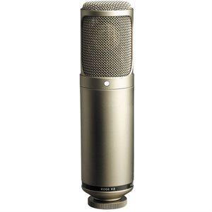 "K2 Variable-pattern dual 1"" valve condenser microphone - omni, cardioid, figure-8 - SM2 mount."