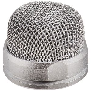 Custom Pin-Head Unpainted replacement mesh head for PinMic - customisable for enhanced camouflage.