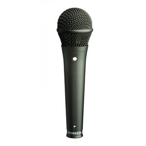 S1-B Live performance super cardioid condenser microphone. Black finish.