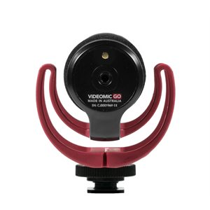 VideoMic GO Light-weight on-camera shotgun mic, integrated cable with 3.5mm jack