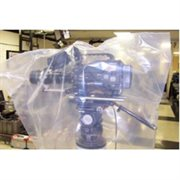 CAMERA BAG PLASTIC BODY BAG CLEAR