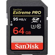 SANDISK EXTREME PRO 64GB SD 95MBS