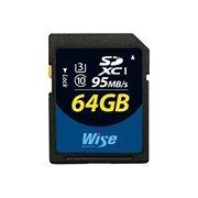 Wise SD1-64U3 SDXC UHS-I 64GB