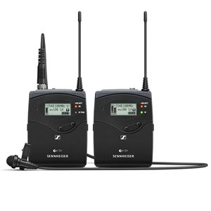 SENNHEISER Evolution G4 100 Series portable lapel wireless system. 626- 668 MHz