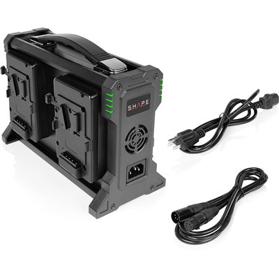 SHAPE INTELLIGENT 4-CHANNEL V-MOUNT LITHIUM-ION BATTERY CHARGER