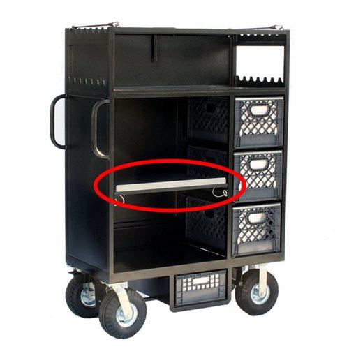 Mini Cart Additional Adjustable Shelf