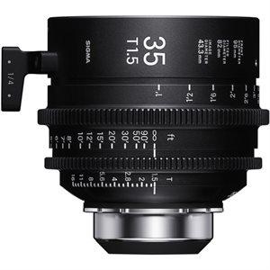 Sigma 35mm T1.5 Cine Lens PL Mount / i-Technology
