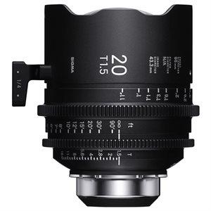 Sigma 20mm T1.5 Cine Lens PL Mount / i-Technology