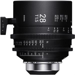 Sigma 28mm T1.5 Cine Lens PL Mount / i-Technology