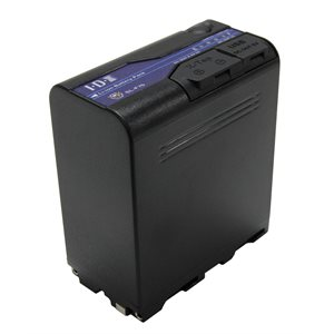 IDX 70Wh 7.2V / 9600mAh Lithium ion Battery for NP-F type