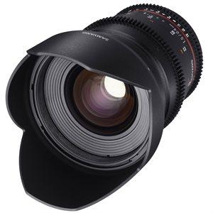 24mm T1.5 VDSLR II Canon EOS Full Frame