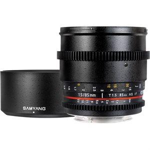 85mm T1.5 VDSLR II Canon EOS Full Frame