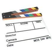 SOBRANTE CLAPPER BOARD COLOUR STICKS