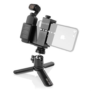 Shape SOPT Security Bracket Connection With Selfie Grip Tripod For Osmo Pocket