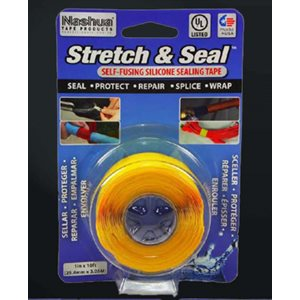 STYLUS STRETCH AND SEAL TAPE - YELLOW