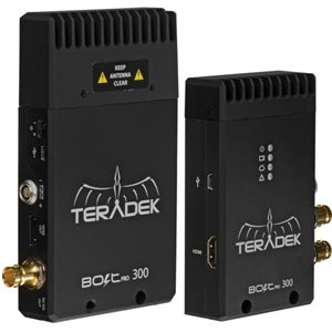 TERADEK BOLT 300 HD-SDI & HDMI TX / RX KIT