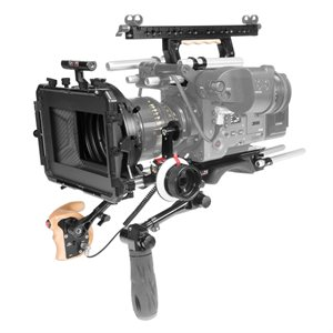 SHAPE Shoulder baseplate, top handle, top plate remote trigger, matte box, f-focus for Sony Venice