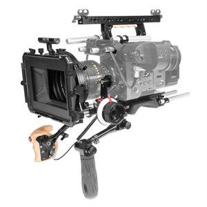 Shape Shoulder b-plate top handle, top plate, rem trigger, matte box & follow focus for Sony Venice