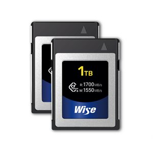 Wise KCX-B1024 CFexpress 1TB (2-Pack)