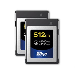 Wise KCX-B512 CFexpress 512GB (2-Pack)