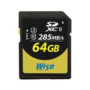WISE 64GB SDXC UHS-II