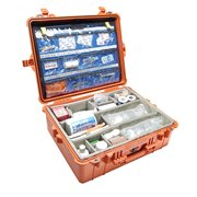 PELICAN # 1600 EMS CASE - ORANGE