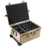 Pelican 1624Adtd 1620 Case With Divider Set - Desert Tan