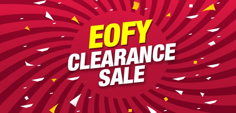 EOFY Clearance sale web banner